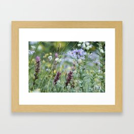 Wildflowers on the Mountain Framed Art Print