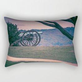 Lone Artillery Antietam National Battlefield Civil War Battleground Maryland Rectangular Pillow
