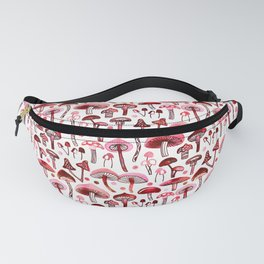 Pink Mushrooms Fanny Pack
