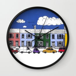 St Johns Terrace, Lewes Wall Clock