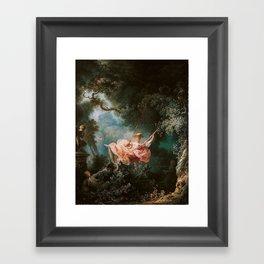 The Swing Framed Art Print