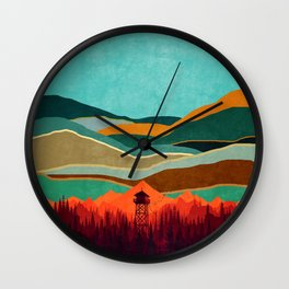 Landscape E13 Wall Clock