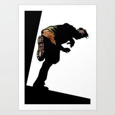 RUN ZOMBIE RUN! Art Print