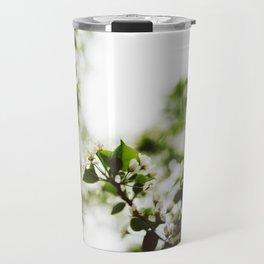 Springtime Snowflakes Travel Mug