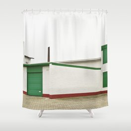 Architecture And Urban Art Shower Curtain