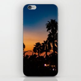 Sunset Silhotte iPhone Skin