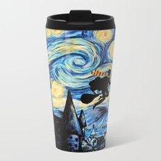 Potter Starry Night Metal Travel Mug