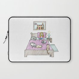 Cats bedtime Laptop Sleeve