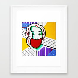 Silenced Girls (part 2/3) Framed Art Print