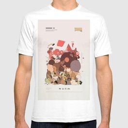 organic infographics T-shirt