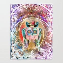Madhatter Owl Poster