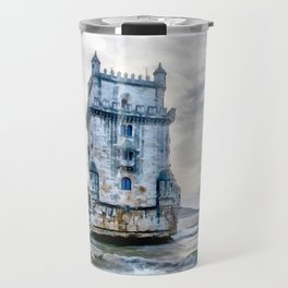Belém Tower, Lisbon (Portugal) Travel Mug