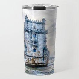 Belém Tower, Lisbon (Portugal) Travel Mug