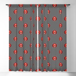Firefighter Pattern Blackout Curtain