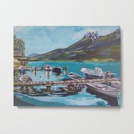 Lake Annecy Metal Print