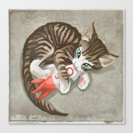 Fallout - Rocket Kitten Canvas Print