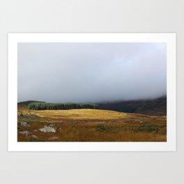 Wicklow Gap, Ireland Art Print