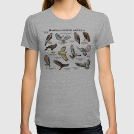 Hawks of North America T-shirt