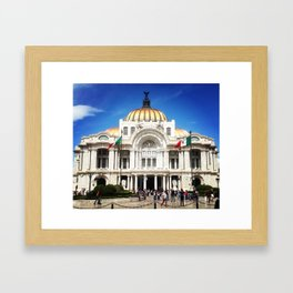 Palacio de Bellas Artes Framed Art Print