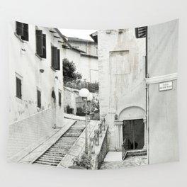 Old Italian city Wall Tapestry