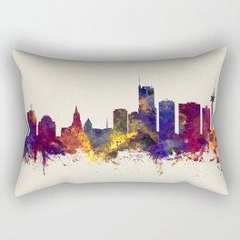 Essen Germany Skyline Rectangular Pillow