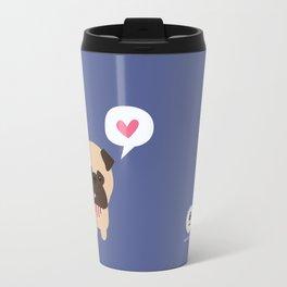 Pancho the Pug Travel Mug