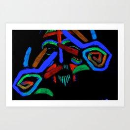 More Blacklight Fun Art Print