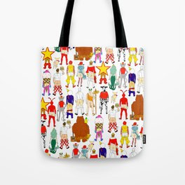 Fast Food Butts Pattern Tote Bag