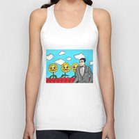 pee wee Tank Tops featuring Pee Wee's Playhouse by Jaime Knight Art