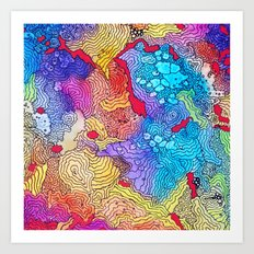 Reef #2 Art Print