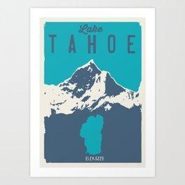 Lake Tahoe. Art Print