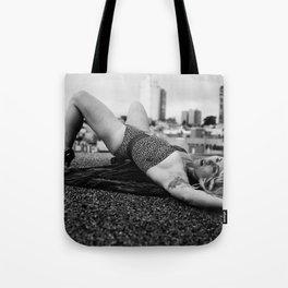 Leopard Lady Tote Bag