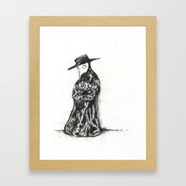 Sixteen, Doctor Framed Art Print