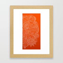 Hena II Framed Art Print