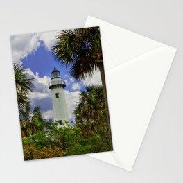 Saint Simonds Island Lighthouse Stationery Cards