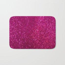 Glamours Fuchsia Glitter Bath Mat