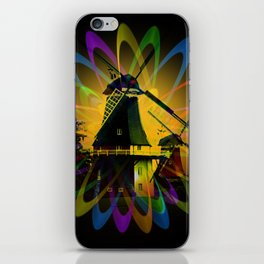 Windmills - Greetsiel iPhone Skin