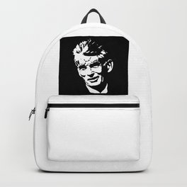 Samuel Beckett portrait Backpack