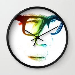lunettes Wall Clock