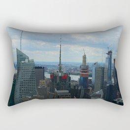 Manhattan City Jungle View Rectangular Pillow