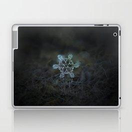Real snowflake macro photo - Slight Asymmetry Laptop & iPad Skin