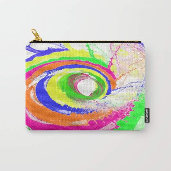 Whirlpool of Colour Carry-All Pouch