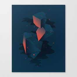 Crystalized Matter Canvas Print