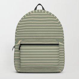Seafoam Neutral Striped Palette Backpack