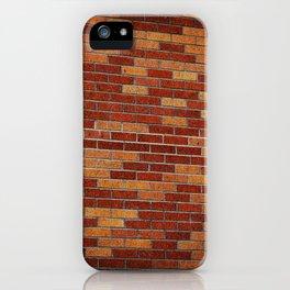 Brick Wall Rorschach iPhone Case