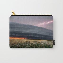 Steamroller - Storm Spans the Kansas Horizon Carry-All Pouch