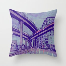 Rome by Night 1 Throw Pillow