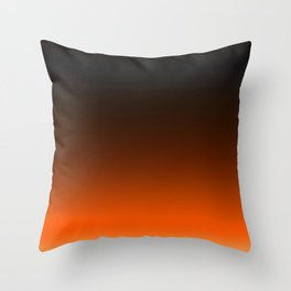 Ombre Sunset Throw Pillow
