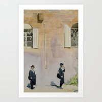 jewish Art Prints featuring Jewish Quarter by Andrey Esionov