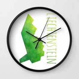 Liechtenstein Wall Clock